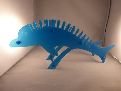 Dinosaur or Dolphin Childrens Plastic CD Holders / Racks in a Choice of Colours