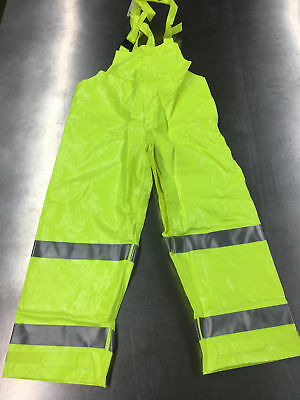 Tingley 042122 Electra Overall Fluorescent Yellow/Green Flame Resistant Large