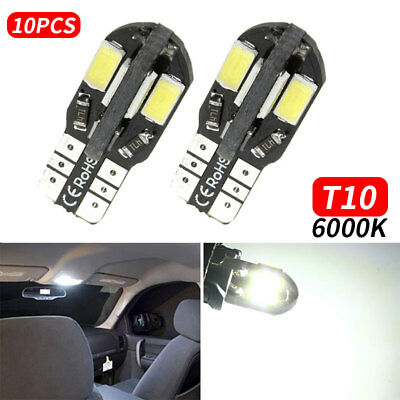 Car Wedge Light T10 5730 8SMD Car Dashboard Light Auto Bright