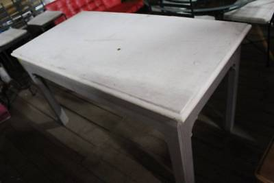 A French Provincial Stone Top Kitchen Island Bench - Stone Top Table