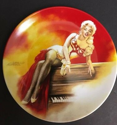 Marilyn Monroe Decorative Collector Plate Limited Edition New #1