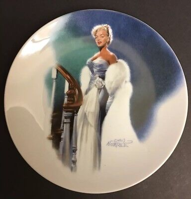 Marilyn Monroe Decorative Collector Plate Limited Edition New #3