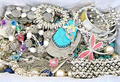 Huge Vintage-Now Junk Drawer Estate Untested Unsearched Jewelry Lot Lbs