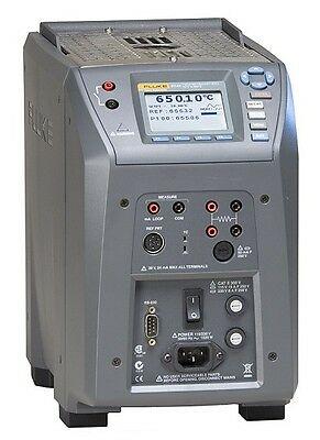 Fluke Calibration 9144-D-P-156 Dry-Well, W/9144-Insd,Blt-In Elct 115V