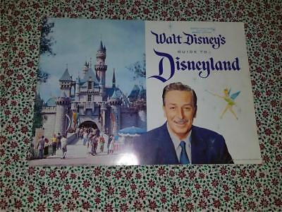 Vintage 1958 Walt Disney Guide to Disneyland 27 Pages Softcover Photo Book