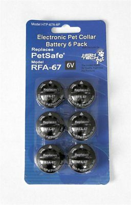 RFA-67 Petsafe Alternative replacement battery (6-pack)