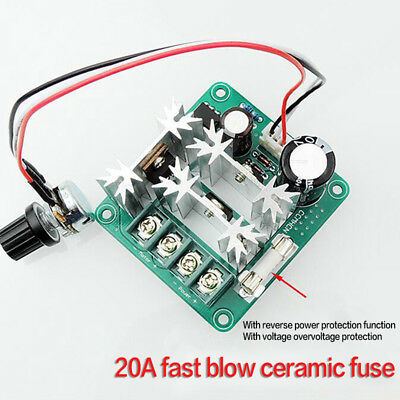 Electrical Equipments & Supplies Dc6v-90v 15a Pulse Width Pwm Dc Motor Speed Controller Switch