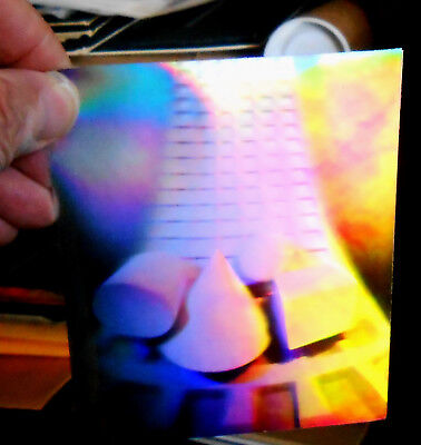 "Hologram FIlm Abstract 4"" x 5"""