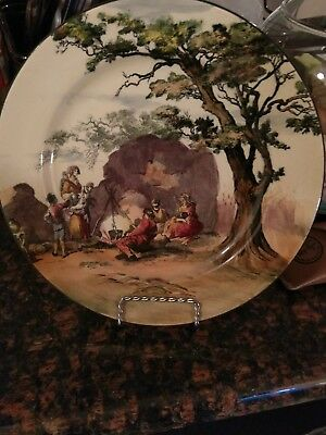 "Royal doulton decorative plate ""The Gipsies"""