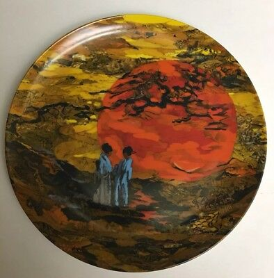Limited Edition 100% Authentic Decorative Collectible Plate  RAR by Lenore Beran