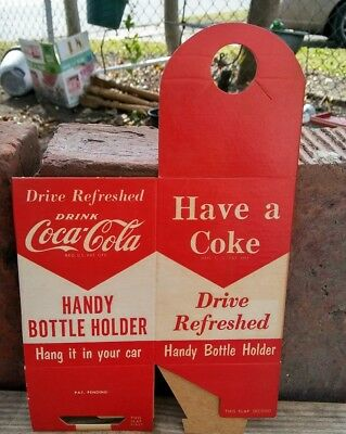 RARE!! Vintage 1950s early 60s Coca Cola Holder Carrier NOS Never Used