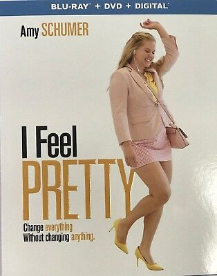 I Feel Pretty(Blu-Ray+Dvd+Digital Hd)W/slipcover New Free Shipping
