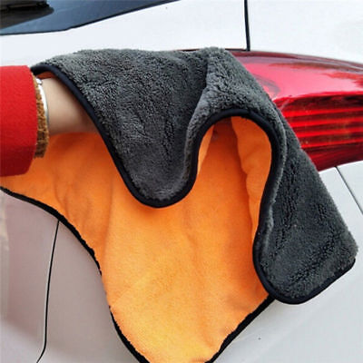 Super Soft Microfiber Absorbent Towel Car Household Washing Cleaning Wash Cloth!