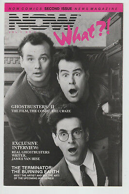 Now What?! #2 - Ghostbusters 2/1st Alex Ross Art Preview - comics magazine 1988