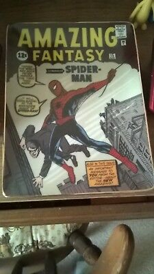 Franklin Mint The Amazing Spider-man Collector Plate
