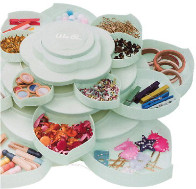 We R Memory Keepers: Bloom Embellishment Storage - Mint