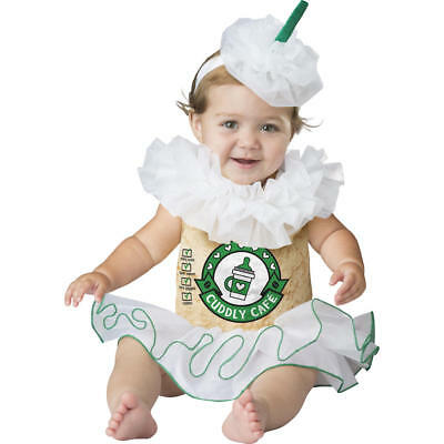 Mommy and Me: Infant Cappuccino Cutie Halloween Costume 12-18 Months--BRAND NEW!