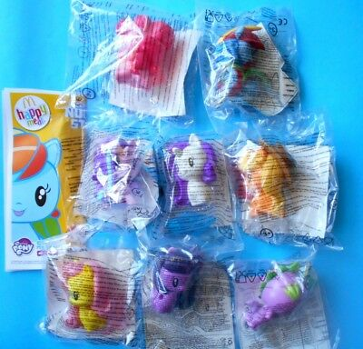 MCDONALDS Happy Meal - MY LITTLE PONY Cutie Mark Crew - 2018 - COMPLETA