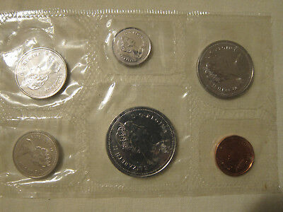 1987 Royal Canadian Mint Proof Coin Set. Collector Coins