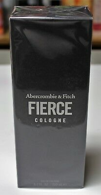 FIERCE by ABERCROMBIE & FITCH 6.7 oz/ 200 mL Cologne Spray for Men SEALED NEW