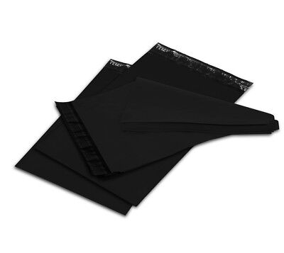 """6"""" x 9"""" SHIPPING ENVELOPES POLY MAILERS SEALING MAILING BAGS PLASTIC BLACK"""