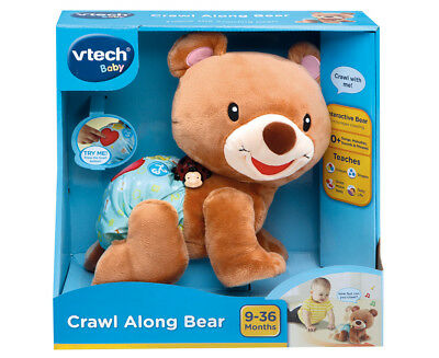 VTech Baby Crawl Along Bear Baby Activity Toy