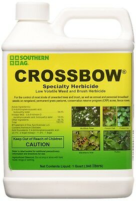 Weed Brush Killer Herbicide Controls Trees Non-Crop Grass Pastures 1 Quart