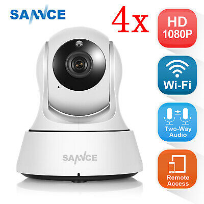 SANNCE Wireless HD 720P Wifi Indoor Security IP Network Camera Night P/T Video
