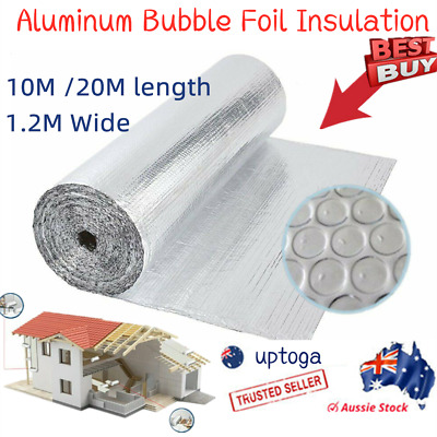 Silver Foil Cell Air Bubble Insulation 40 M L 750mm W