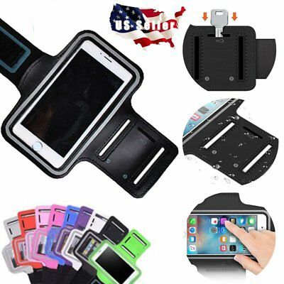 For Galaxy S9 Plus Phone X 8 Sport Armband Running Gym Case Cover Phone Holder