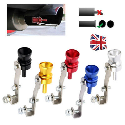 Turbo Exhaust Whistler Whistle Simulator Sound Dump Blow Off Tailpipe Universal