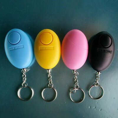 Personal Alarm Emergency Siren Song Survival Whistle Egg Self-Safety Keychain