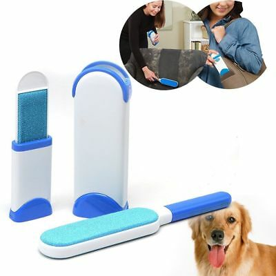 Reusable Pet Hair Remove Tool Fur Lint Remover with Travel Size Self Cleaning UK