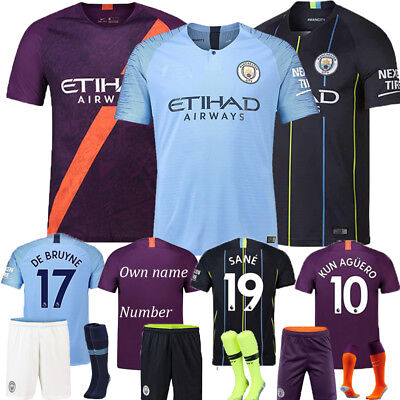 New 2019 Football Kits Silva Soccer Short Sleeve Jersey 3-14 Y Boys Kids+Socks