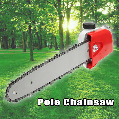 Pole Chainsaw Hedge Trimmer Head For Garden Multi Tool Lawn Mower Brush Cutter