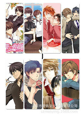 8pcs/set PVC Lesezeichen Bookmarks of  Anime Sekai ichi Hatsukoi book mark