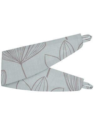 JOHN LEWIS COTTON CURTAIN TIE BACKS ONE PAIR GREY//BLUE NEW GINGKO MINERAL