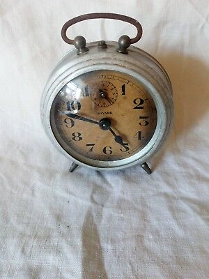 Vintage Bayard Alarm Clock For Spares Or Repair