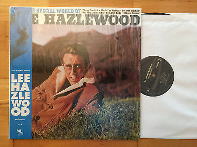 LEE HAZLEWOOD The Very Special World Of LP MASTERED FROM ORIGINAL TAPES MINT-
