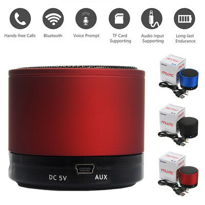 Wireless Bluetooth Portable Stereo Mini Speakers For Mobile Phone MP3 iPhone