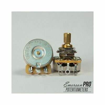 "Emerson Custom PRO CTS - 250K BLENDER Short (3/8"") Split Shaft Potentiometer"