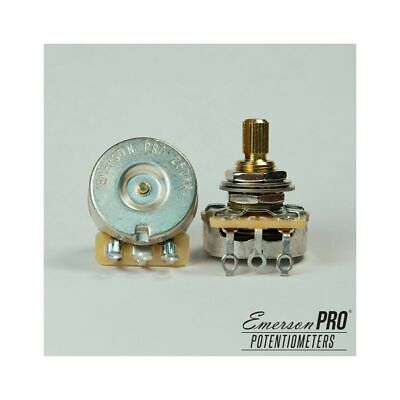 "Emerson Custom PRO CTS - 250K Short (3/8"") Split Shaft Potentiometer"