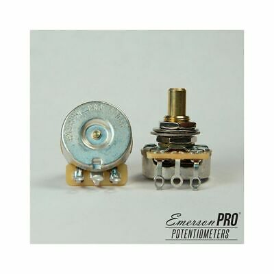"Emerson Custom PRO CTS - 500K Short (3/8"") Solid Shaft Potentiometer"