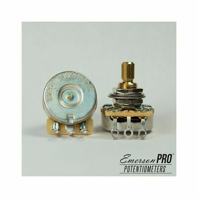 "Emerson Custom PRO CTS - 500K Short (3/8"") Split Shaft Potentiometer"