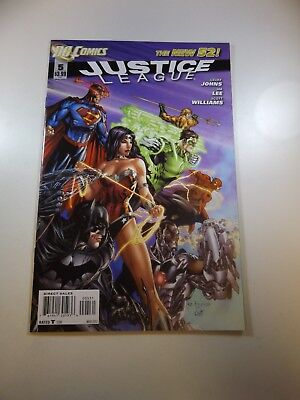 Justice League #5 New 52 variant VF+ condition Huge auction going on now!
