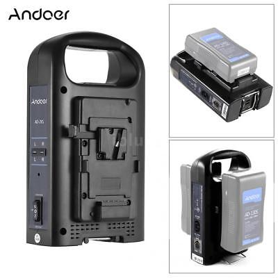 Andoer BMD URSA Series V-Mount V-Lock Battery Plate Adapter 11V-16.8V Input H9L5