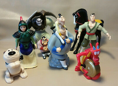 Mc Donalds Happy Meal Junior Tüte Disney Mulan Set
