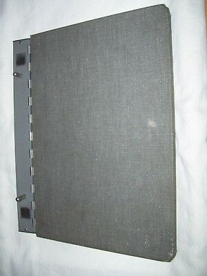 Vintage Sectional Post Binder - Automatic Lock - National Blank Book Co.