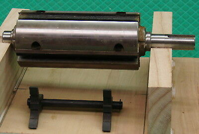 """6"""" jointer 4-knife cutter head and setting jig — new"""
