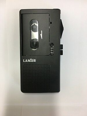 """Lanier P165  """"Reconditioned"""" Micro Cassette Recorder with  **90 Day Warranty**"""